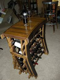 arched napa valley wine barrel end table arched napa valley wine barrel table