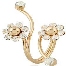 Stylish New Gold-plated Flower Spring Ring Sale, Price & Reviews ...