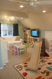 cute playroom but i see a couple things wrong 1 white couch bonus room playroom office