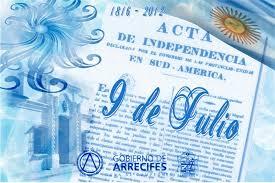 Resultado de imagen para bicentenario 9 de julio