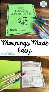 best images about math for th grade math facts morning work made easy morning work for first second and third grade each page includes math ela and either printing or cursive writing package