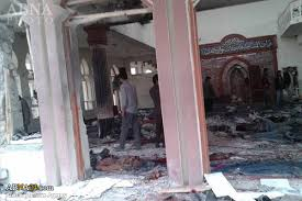 Image result for یک مهاجم انتحاری وارد مسجد «باقرالعلوم» در غرب کابل شد