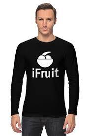 <b>Лонгслив</b> Я Фрукт (iFruit) #696338 от trugift по цене 2 040 руб. в ...