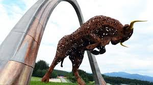 red bull sculpture at the red bull ring formula one world championship rd8 austria view red bull