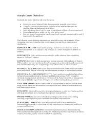 career goal resume cipanewsletter career goal examples template