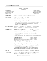 accountant sample resume objective cipanewsletter cover letter sample resume for an accountant sample resume for