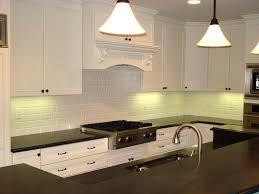 kitchenfascinating black and white kitchen interior set with dim cabinet recessed lighting decorate tile backsplash lighting