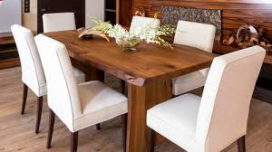 Wooden <b>dining table</b> in Modern Rustic style 6 person
