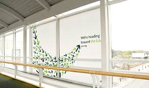 these graphics generally very affordable are not just an advertising option they also provide a way to enhance your office space advertising office space