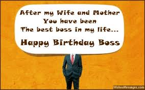 Birthday Wishes for Boss: Quotes and Messages | WishesMessages.com via Relatably.com