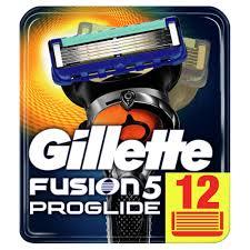 Сменные <b>кассеты</b> для бритья <b>Gillette Fusion ProGlide</b> (12 шт ...