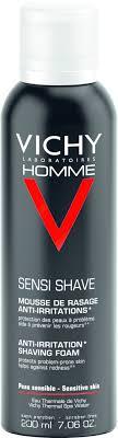 <b>Vichy</b> Homme Shaving Foam Sensitive Skin - <b>Пена для бритья</b> для ...