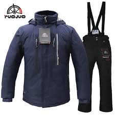 2019 RUOJUO <b>New Hot</b> Men <b>Ski Suit</b> Snowboarding Jacket And ...