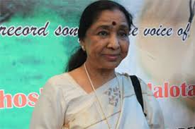 Asha Bhosale. Renowned playback singer Asha Bhosle was felicitated in the House of Commons here for her outstanding achievements in music. - M_Id_206108_Asha_Bhosale