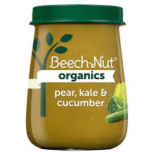 Beech-Nut <b>Organics Pear</b> Kale & Cucumber <b>Baby Food</b> Jar - 4oz ...