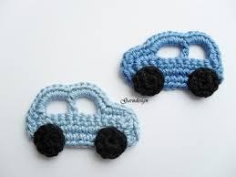 """Résultat de recherche d'images pour """"tuto crochet  appliqué voiture"""""""