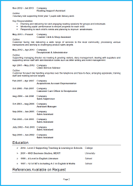 example of a good cv education cv page 2