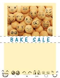 bake flyers flyer designs happy face cookie flyer template