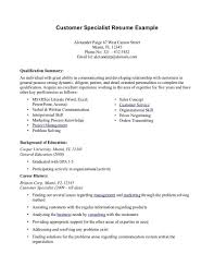customer service summary resume sample resume for customer service examples of a customer service representative resume top pick for customer service representative resume sample 2013