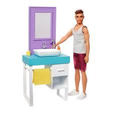 Набор <b>Barbie</b> Комната Кена Ванная комната (FYK51/<b>FYK53</b> ...