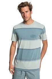 Купить <b>футболку QUIKSILVER Gradient Stripe</b> Stormy Sea Gradient ...