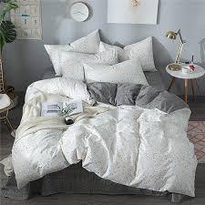Hongbo <b>4 Pcs</b>/Set <b>Nordic</b> Style Bedding Sets Geometric Pattern Bed ...