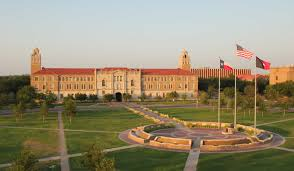 the story behind my college choice just another college kid texas tech administration building and memorial circle from above