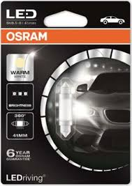 <b>Лампа</b> автомобильная <b>Osram</b> C5W (SV8.5/8) 41 мм <b>LED</b> Premium ...