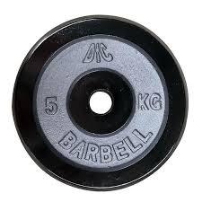<b>Диск хромированный DFC</b> 5 кг, диаметр <b>26</b> мм