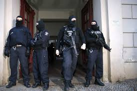 Belgian police raids