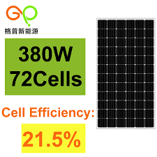 China 380W Monocrystalline <b>Solar Panel</b> with <b>TUV</b>/Ce Certificate ...
