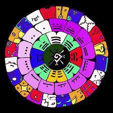 Resultado de imagen para calendario maya estrella resonante amarilla