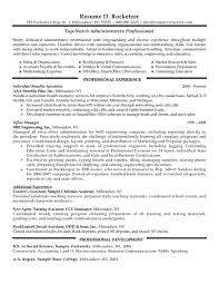 professional resume administrative professional resume