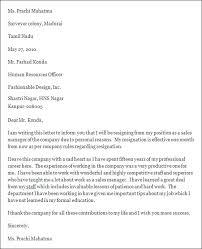 resignation letter formal   seangarrette coresignation letter formal   write