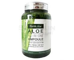 Купить FarmStay Aloe <b>All</b> In One Ampoule многофункциональную ...