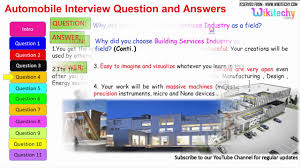 automobile interview question and answers for freshers and automobile interview question and answers for freshers and experienced online videos