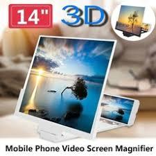 <b>14 Inch</b> Folding <b>Mobile Phone</b> Screen Magnifier 3D HD Screen ...