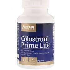 Jarrow Formulas, <b>Молозиво Prime Life</b>, <b>500</b> мг, 120 капсул