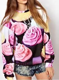 Could not resist pinning this cupcake sweatshirt - <b>Stylish Round</b> ...