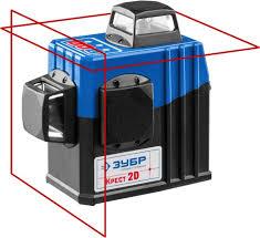 Линейный <b>лазерный нивелир ЗУБР Крест</b>-<b>2D</b> Профессионал ...