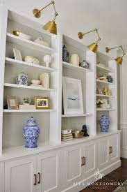 sita montgomery interiors my home office makeover reveal bookcases for home office