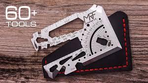 Credit <b>Card</b> EDC <b>Multi Tool</b> 60+ Tools in One.Universal 3.0 by MRF ...