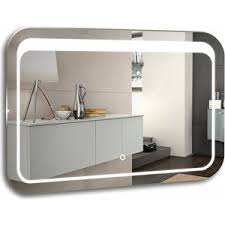 Купить <b>Зеркало Mixline</b> Пульсар 80х55 с подсветкой, сенсор ...