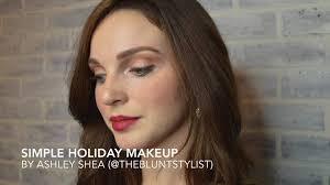 Studio Style & <b>Spa</b> - <b>Simple</b> Holiday Makeup By Ashley <b>Shea</b> ...