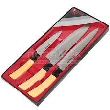 <b>Набор ножей</b> стальных Y3-1005 I.K в подарочной упаковке, <b>3</b> ...