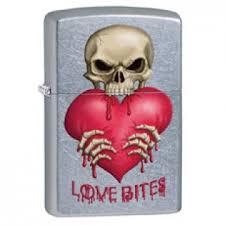 Купить <b>Зажигалка Zippo</b> 28464 Love Bites Street Chrome по ...