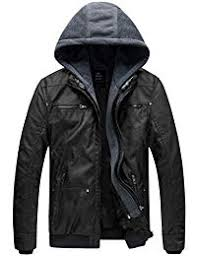 Mens <b>Leather</b> and Faux <b>Leather Jackets</b> | Amazon.com