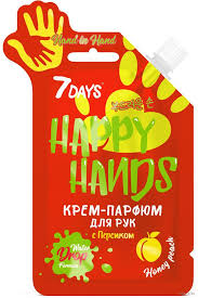 "<b>Крем</b>-<b>парфюм для</b> рук ""Happy Hands. Персик"" (25 г) Vilenta ..."