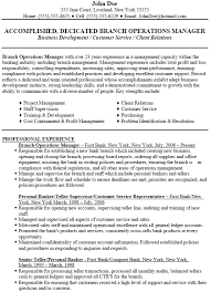 branch manager resume sample   uhpy is resume in you branch operations manager resume example sample