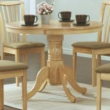 40 inch round pedestal dining table: monarch specialties diameter round pedestal table  inch natural